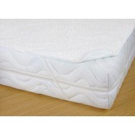 Chránič matrace s PVC, 180x200, bílý