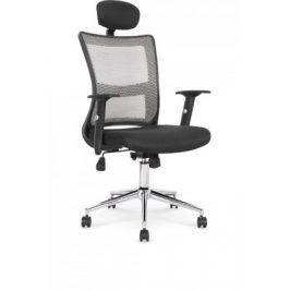 Kancelářská židle Marta, černá, šedá
