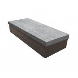 Válenda Iva 80x200, šedá, včetně úp