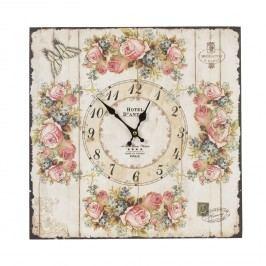 Nástěnné hodiny de France (40*5*40 cm)