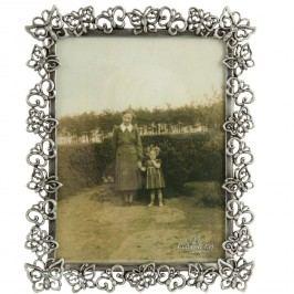 Dekorativní rámeček na fotografii - motýli s diamanty