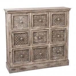 Designová dřevěná komoda