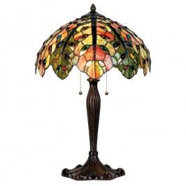 Tiffany stolní lampa Strom života (Ø 43*60 cm výška)