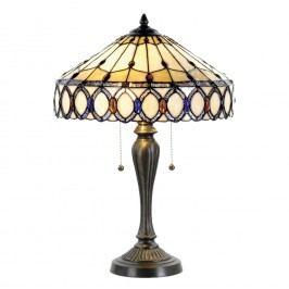 Tiffany stolní lampa Drahokam ( Ø 40*58 cm výška)