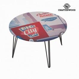 Kulatý stolek s retro vzorem II - kolekce Lili