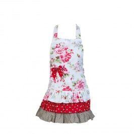 Kuchyňská zástěra s růžemi - dětská