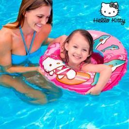Nafukovací kruh - design Hello Kitty