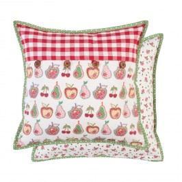 Bavlněný polštář s dekorem