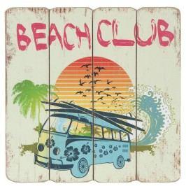 Nástěnná dekorativní cedule BeachClub