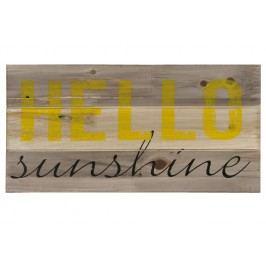 Nástěnný dekorativní citát Hello Sunshine