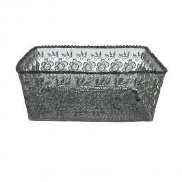 MAXI Plastový krajkový košík (39*32*16 cm)