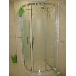 Sprchový kout Anima T-Silent čtvrtkruh 90 cm, R 550, sklo stripe, chrom profil TSIS90CRS
