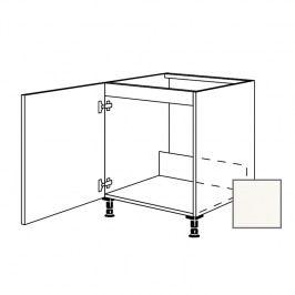 Kuchyňská skříňka dřezová spodní Naturel Erika24 60x72x56 cm bílá lesk 450.SPUD60.L