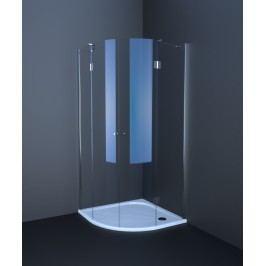 Sprchový kout Anima T-Comfort čtvrtkruh 90 cm, R 550, čiré sklo, chrom profil TCS490T