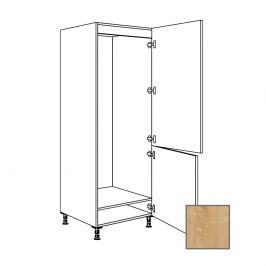 LUSI24 Kuchyňská skříňka 60 cm pro lednici, pravá, dub, VC182 698.GD17801.R