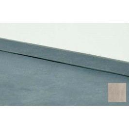 Těsnící lišta Naturel 400 cm beton 330.WAP400