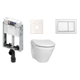 Závěsný komplet WC Vitra S50, zadní odpad KMPLS50T