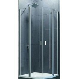 Sprchový kout Huppe Design Pure jednokřídlé 90 cm, R 550, čiré sklo, chrom profil DPU290190CRT