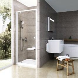Sprchový kout RAVAK PDOP2-100 satin+transparent 03GA0U00Z1
