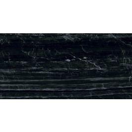 Dlažba Graniti Fiandre Marmi Maximum Nero Supremo 37,5x75 cm, leštěná, rektifikovaná MML29673