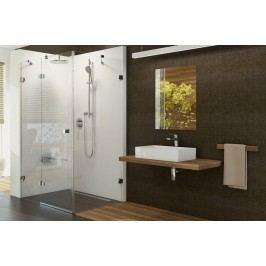 Sprchový kout Ravak Brilliant jednokřídlá 80 cm, čiré sklo, chrom profil 0UPD4A00Z1