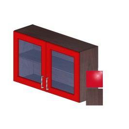 LOLA H 100 Z červená/dub tmavý 5161367