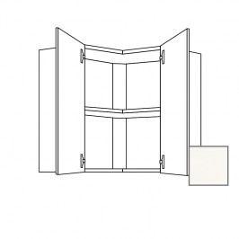 Kuchyňská skříňka s dvířky horní Naturel Erika24 65x65x65 cm bílá lesk 450.WE6501L