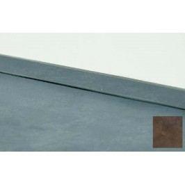 Těsnící lišta na pracovní desku měď 4m 117.WAP400