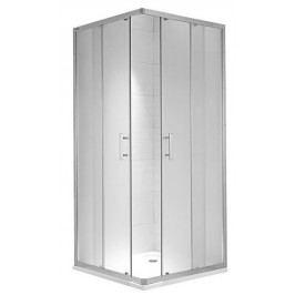 Sprchový kout Jika čtverec 90 cm, čiré sklo, satin profil H2512420026681