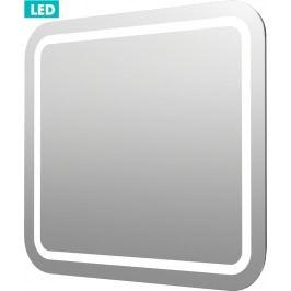 Naturel Zrcadlo s osvětlením led Pavia Way 60x60 cm IP55, bez vypínače ZIL6060KRBV