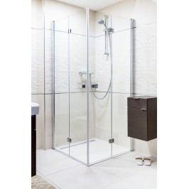 Sprchový kout Anima SK skládací 80 cm, čiré sklo, chrom profil SK8080
