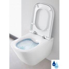 Závěsné WC Roca The Gap, Rimless, 54cm A34647L000