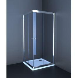 Sprchový kout Anima T-Pro čtverec 90 cm, neprůhledné sklo, chrom profil TPLNEW90CRG