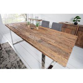 INV Dřevěný jídelní stůl Master Old 200cm